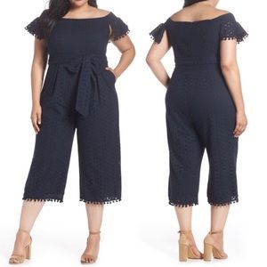 HOST PICK 🍒PLUS SIZE🍒 Off Shoulder Jump Suit
